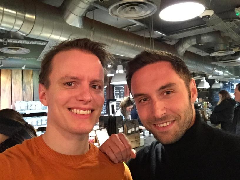 "Jag träffade en taggad Måns Zelmerlöw i Brighton inför ""Eurovision - You Decide""."